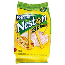 Cereal NESTLÉ Neston flocos 3 cereais sachet 240g